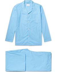 Handvaerk - Puppytooth Pima Cotton Pyjama Set - Lyst