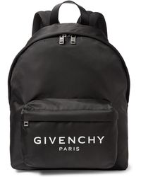 Givenchy - Logo-print Nylon Backpack - Lyst