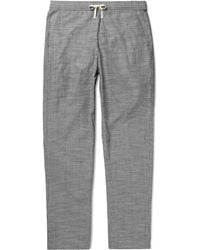 Oliver Spencer | Pinstriped Cotton Pyjama Trousers | Lyst