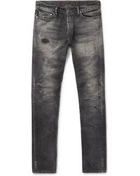 John Elliott - The Cast 2 Skinny-fit Distressed Denim Jeans - Lyst