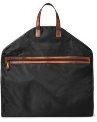 Berluti - Hemisphere Leather-trimmed Nylon Garment Bag - Lyst