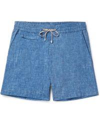 Loro Piana - Maui Mid-length Printed Swim Shorts - Lyst