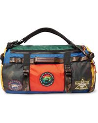a07a38b32c Polo Ralph Lauren - Appliquéd Colour-block Nylon Duffle Bag - Lyst