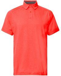 Under Armour - Outer Glow Threadborne Heatgear Polo Shirt - Lyst