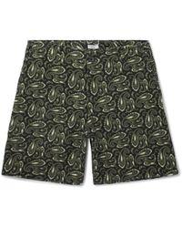 Eidos - Morgan Printed Cotton Shorts - Lyst