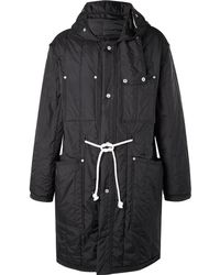 Maison Margiela - Quilted Shell Hooded Parka - Lyst
