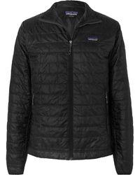 Patagonia Nano Dwr-coated Ripstop Jacket - Black