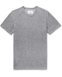 Reigning Champ - Cotton-blend Terry T-shirt - Lyst
