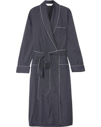 Derek Rose - Plaza Polka-dot Cotton Robe - Lyst
