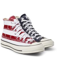 c5c18c179a7a Converse - + Jw Anderson 1970s Chuck Taylor All Star Logo-print Canvas High-