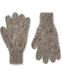 Drake's - Donegal Merino Wool Gloves - Lyst