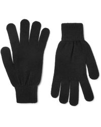 Paul Smith - Cashmere And Wool-blend Gloves - Lyst