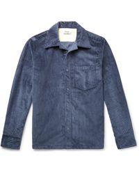 Acne Studios - Cotton-corduroy Overshirt - Lyst
