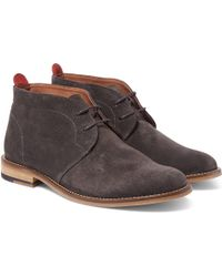 Oliver Spencer | Baxter Suede Chukka Boots | Lyst