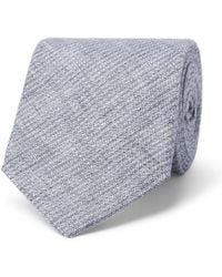 Oliver Spencer - Lydon Woven Linen Tie - Lyst