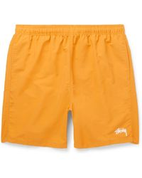 Stussy - Stock Water Shell Shorts - Lyst
