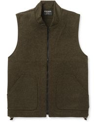 Filson - Mackinaw Virgin Wool Gilet - Lyst