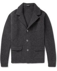 Incotex - Virgin Wool Cardigan - Lyst