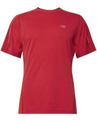 Arc'teryx - Motus Slim-fit Phasic Sl T-shirt - Lyst