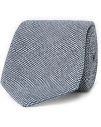 Oliver Spencer - 8cm Gower Woven Cotton Tie - Lyst