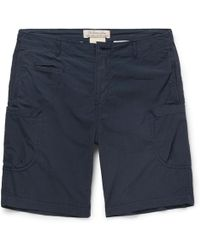 Remi Relief - Cotton And Nylon-blend Shorts - Lyst