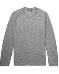 Z Zegna - Slim-fit Techmerino Wool T-shirt - Lyst