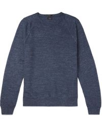 J.Crew | Mélange Cotton Jumper | Lyst