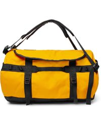 The North Face - Base Camp Coated-canvas Holdall - Lyst