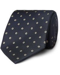 Kingsman | + Drakes 8cm Printed Silk-faille Tie | Lyst