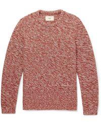 Folk - Mélange Cotton Sweater - Lyst