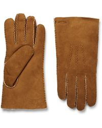 Hestra - Shearling Gloves - Lyst
