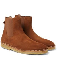 Folk - Suede Chelsea Boots - Lyst
