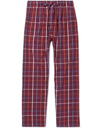 Derek Rose - Ranga Checked Cotton Pyjama Trousers - Lyst