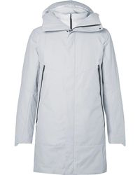 Nike - 2-in-1 Padded Cotton-blend Shell Coat With Detachable Down Gilet - Lyst