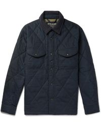Filson - Hyder Quilted Jac-shirt Faded Navy - Lyst