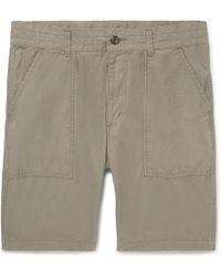 Baker Slim-fit Camouflage-print Cotton Shorts Neighborhood wwn7YCCpJs
