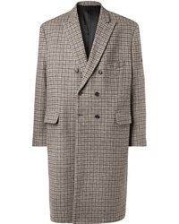 Balenciaga - Washed Db Coat - Lyst
