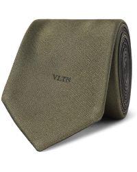 Valentino - 6cm Silk-twill Tie - Lyst