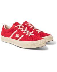28263d1d5c0fb5 Lyst - adidas Originals I-5923 Suede-trimmed Neoprene Sneakers in ...