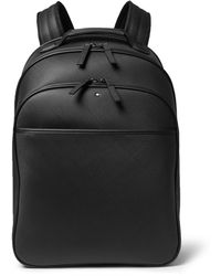 Montblanc - Extreme Leather Backpack - Lyst