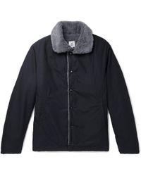 Arpenteur - Quart Faux Fur-lined Cotton Jacket - Lyst