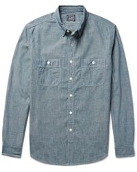 J.Crew | Cotton-chambray Shirt | Lyst