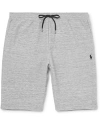 Polo Ralph Lauren - Mélange Jersey Drawstring Shorts - Lyst