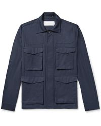 Private White V.c. - Tropical Weave Cotton Jacket - Lyst