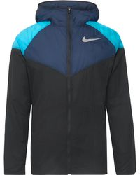 0557375f0 Nike Sportswear Windrunner Jacket in Black for Men - Lyst