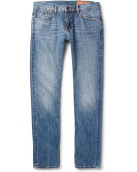 Jean Shop - Jim Slim-fit Selvedge Denim Jeans - Lyst