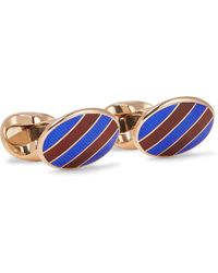 Kingsman - + Deakin & Francis Rose Gold-plated Cufflinks - Lyst