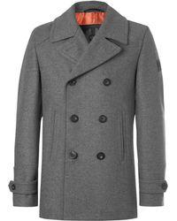 Belstaff - Duran Double-breasted Virgin Wool-blend Overcoat - Lyst
