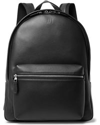 Dunhill - Hampstead Canvas-panelled Leather Backpack - Lyst