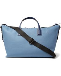 Loewe - Leather-trimmed Canvas Holdall - Lyst